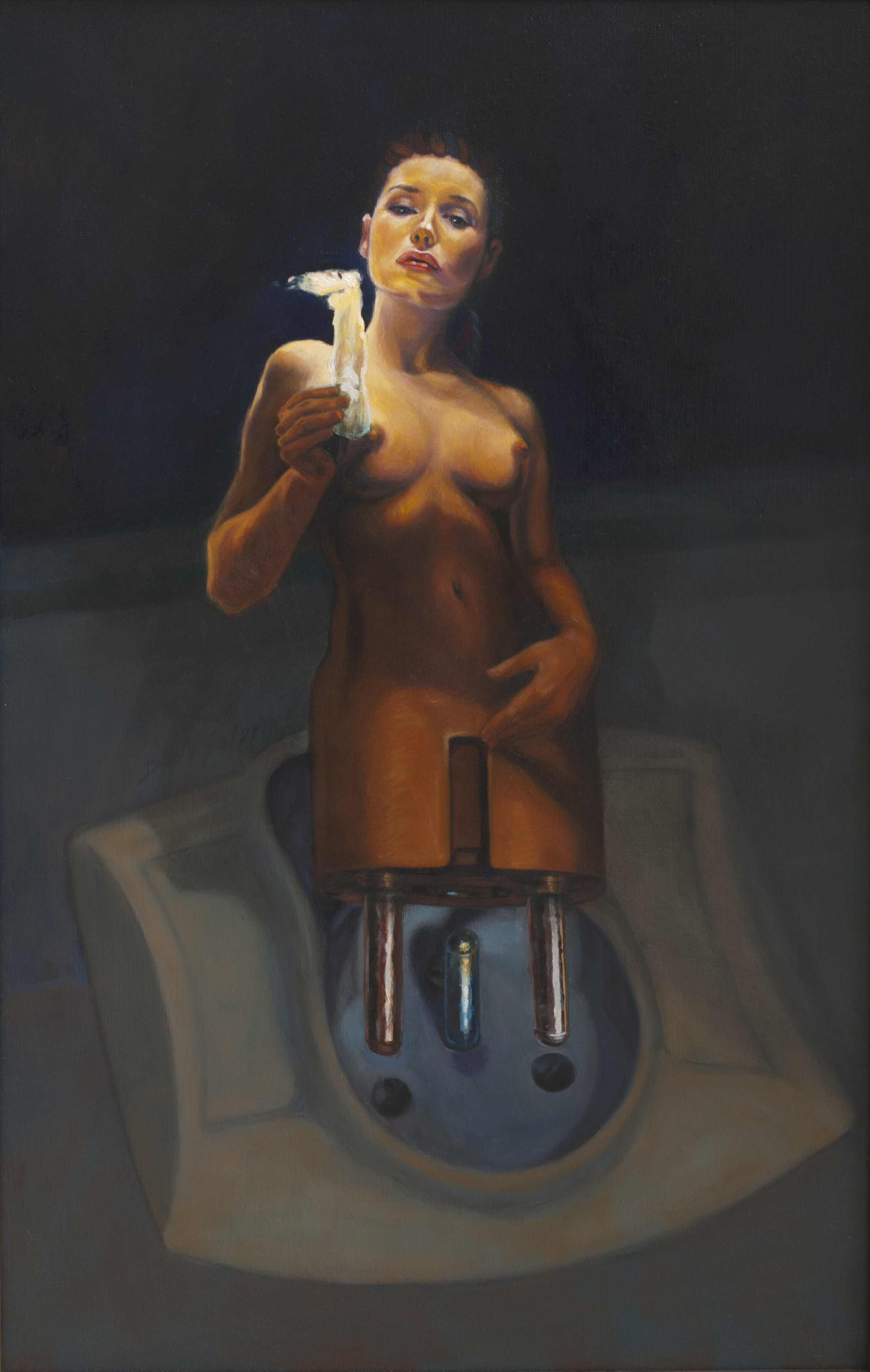 oil on canvas 45x70