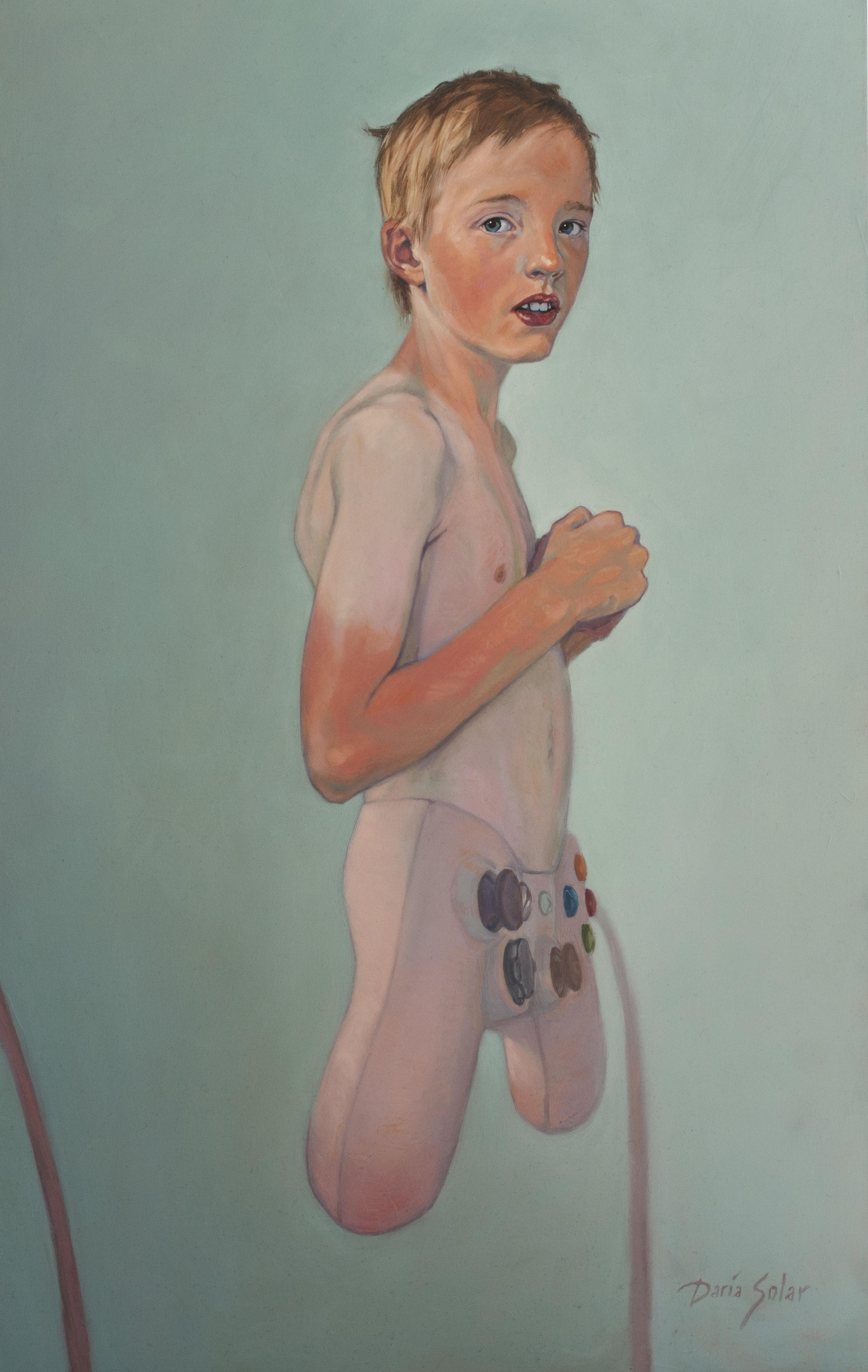 VIRTUAL BOY - Art against Paedophilia