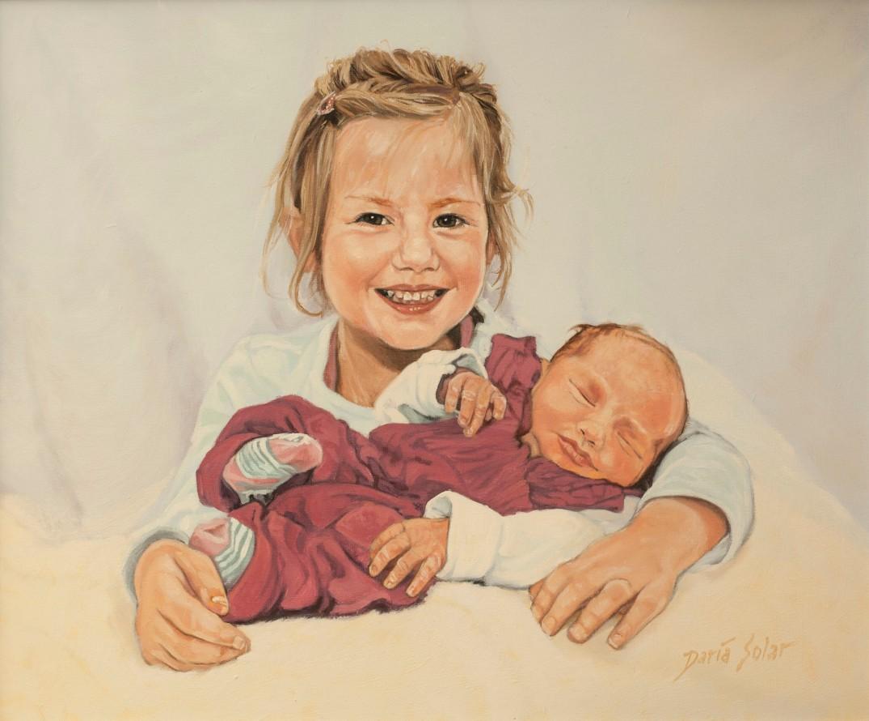 Sisters- 40x50-oil-on-canvas-daria-solar