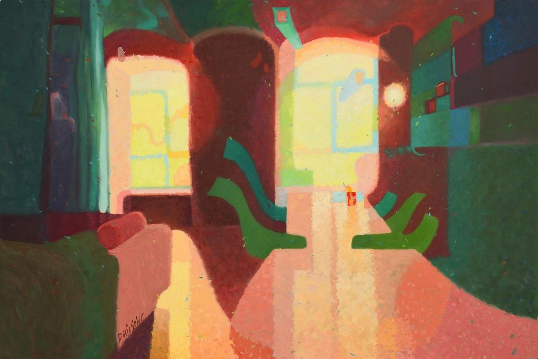 Limaduras by Daria Solar oil on canvas 60x90 cm