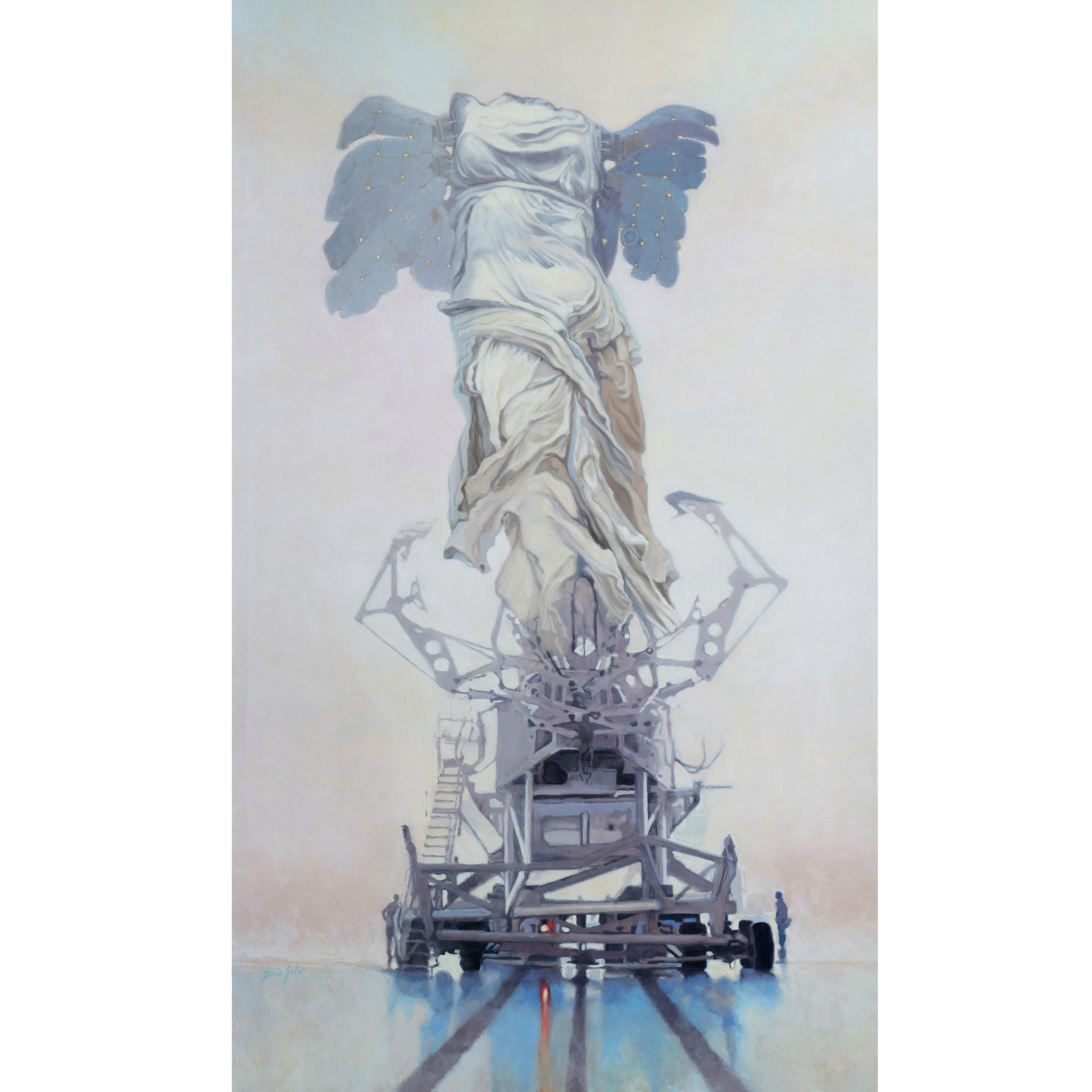 NIKE INSTA Daria Solar 220x120 oil on canvas 2020