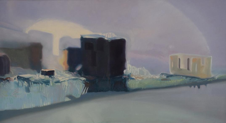 Dzień dobry Good Morning by Daria Solar 2020 oil on canvas